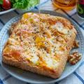 身近な4種のチーズで♪クワトロフォルマッジトースト(*゚▽゚*)