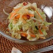 白菜をサラダ仕立てに♪白菜と桜エビのエスニックコールスロー