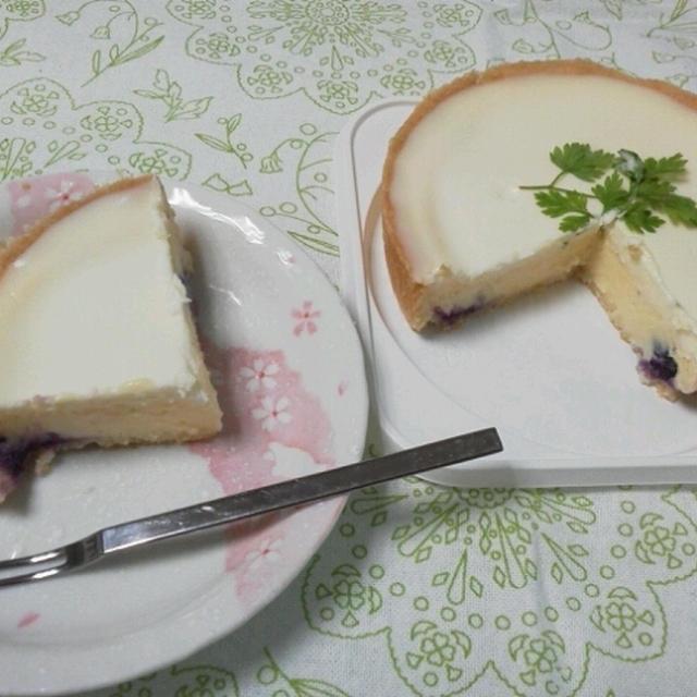 ダブルチーズケーキを食べてみた♪