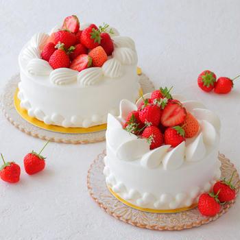 デコレーションケーキ日より