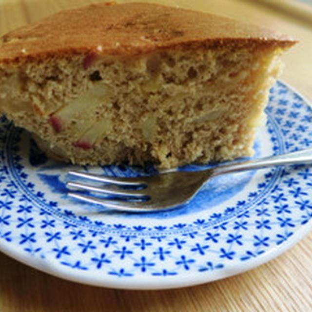 ヘルシーアップルケーキ