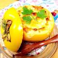 柿とカマンベールのグラタン。