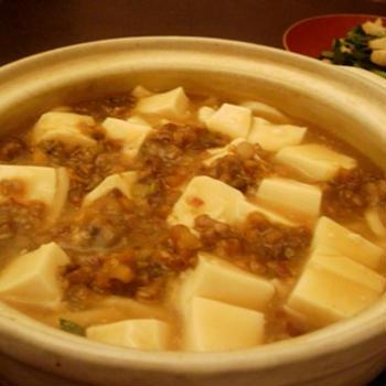 とろ〜りヘルシー【精進麻婆豆腐煮込み饂飩】
