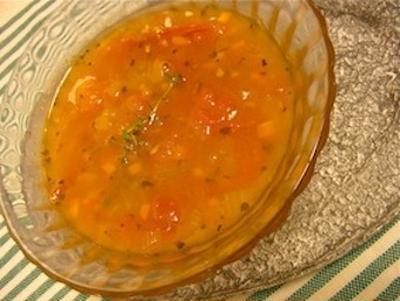 トマトとにんじんの美肌スープ