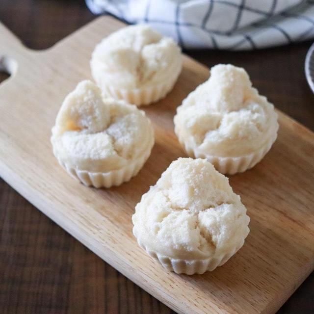 【基本レシピ】米粉蒸しパンレシピ!卵なし小麦粉なし油なし!蒸し器なし!お鍋で簡単