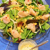 帆立サラダのハーブヨーグルトドレッシング