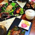 ◆スペアリブと久しぶりの整列サラダ♪ by fellowさん