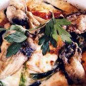 牡蠣の簡単グラタン♪ローズマリー風味
