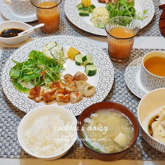 【和食】大根づくしの夜ご飯/Japanese Radish Menu for Curing a Cold