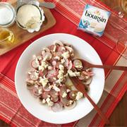 ブルサンレシピリレー6品目は、紅白なおめでたいサラダ