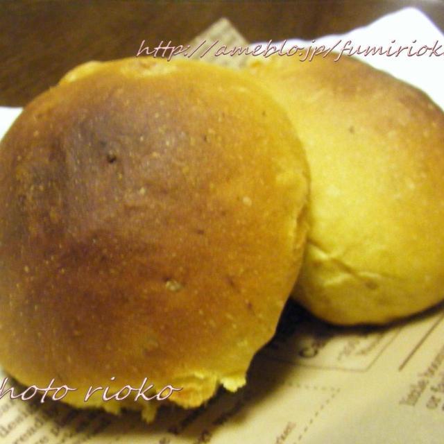 ●かぼちゃと胡桃のチーズパン●