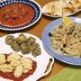 寒い時期ならでは!鱈の白子のフリットをたっぷりのトマトソースと一緒に&南イタリアの香りいっぱい!「ラム肉の肉だんご・サルデーニャ風」とアオサのゼッポリーネ