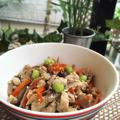 冷凍豆腐で水切り簡単!炒り豆腐