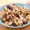 【レシピ】「砂肝とナスの中華風炒め」高たんぱく低カロリー100g100円ちょっとお得な砂肝活用レシピ