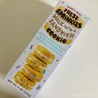 限定 トレーダージョーズ サンドウィッチクッキー Trader Joe's These Sprinkles Walk into a Sandwich Cookie