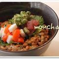 ☆サーモンとマグロのネバネバ丼☆
