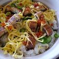 愛知県産:うなきゅう(鰻とキュウリ)ちらし寿司