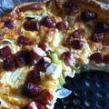 シポラッタ&ズッキーニ&チーズのキッシュ