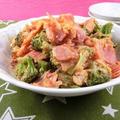 子供も喜ぶ!簡単料理のブロッコリーとベーコンのケチャップ炒め by 銀木さん