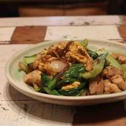 SNSとか/【recipe】青梗菜と鶏肉の中華炒め