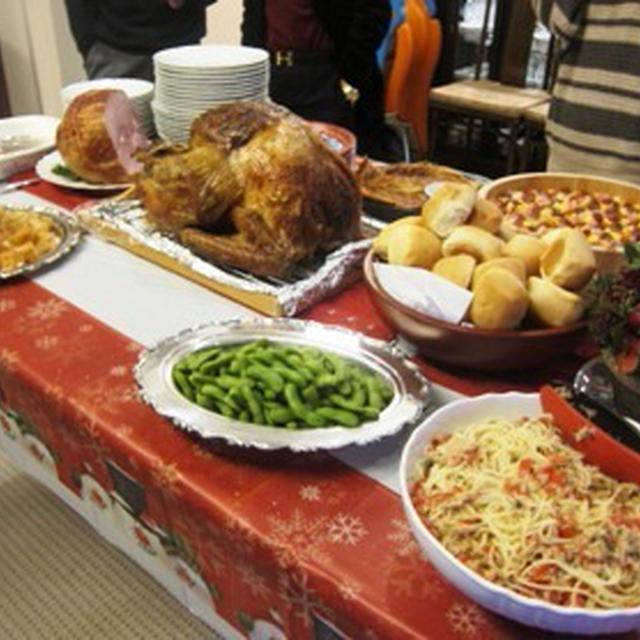 イギリススタイルのクリスマスパーティー