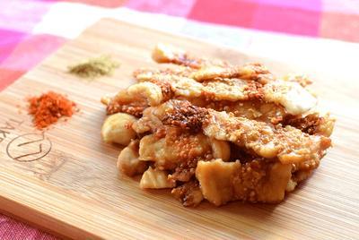 激楽サクッと。パリサク実現の和風チキン醤油煎餅(糖質0.5g)