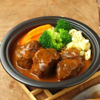 牛すね肉でビーフシチュー 、 「レシピブログ・カップ」特典モニター