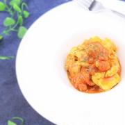 トマトでお肉を柔らかく☆鶏肉のトマト煮込み