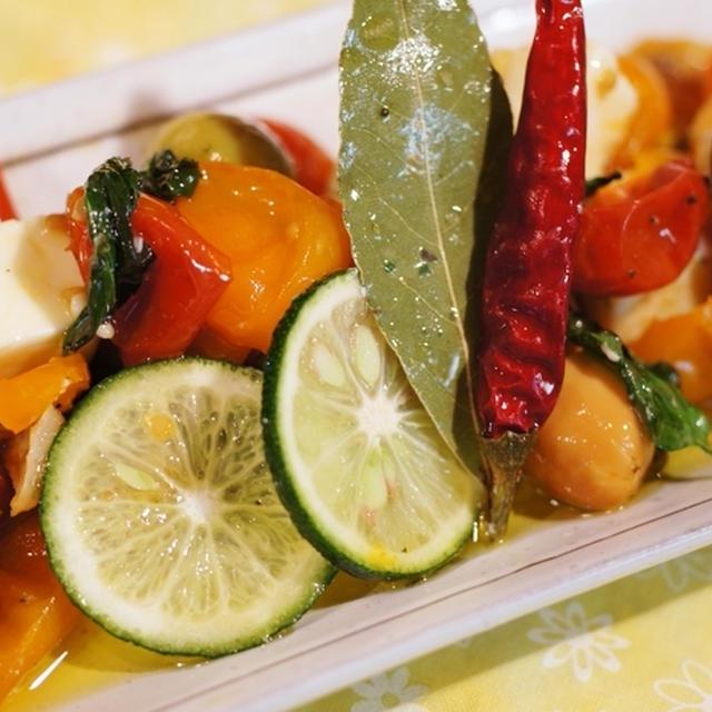 【すだちで決める!!絶品イタリア~ン♪】セミドライトマト作りから。
