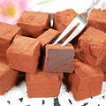 【バレンタインチョコ】生チョコレート&ラッピング(材料3つで簡単・溶かすだけ♪)