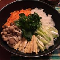 時短!野菜たっぷり鍋