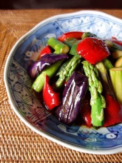 彩り野菜の和風マリネ