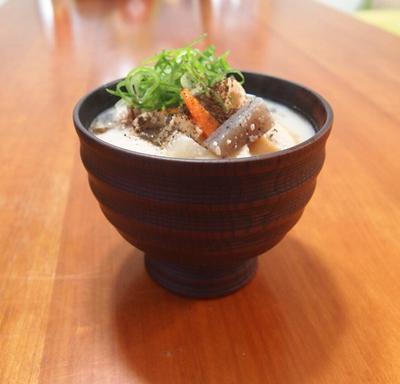 かす汁と白菜のうま煮