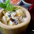 ■季節のおもてなし朝ご飯【①竹の子と浅利の炊き込みご飯・若竹汁】 by あきさん