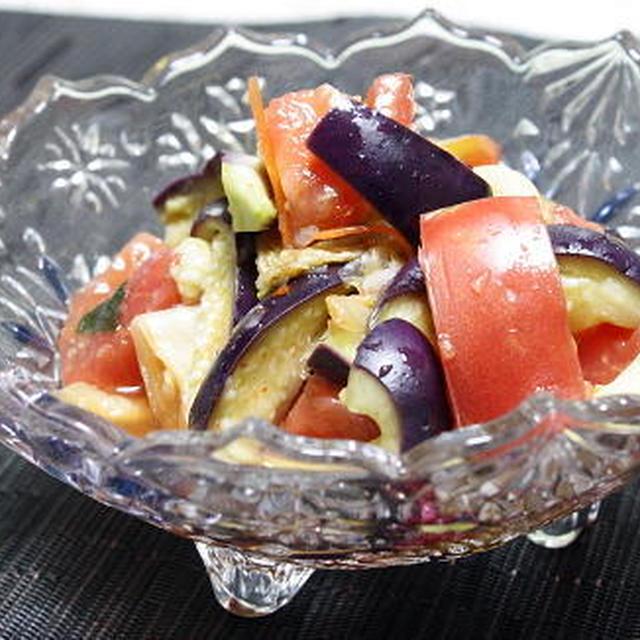 12/08/16 トマトとキムチの甘酢サラダ