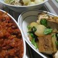 厚揚げとじゃがいも煮(レシピ)とカブ煮 by MISOさん