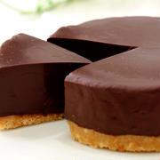 材料3つで簡単生チョコケーキ