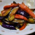 茄子と魚肉のブラックペッパー炒め&青山 彩でランチデート by とまとママさん