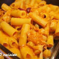 ☆ポルチーニ入りトマト風味のリガトーニ☆