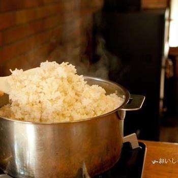 いざって時に!!!そこにあるコップで量り、カセットコンロで炊くご飯レシピ詳細