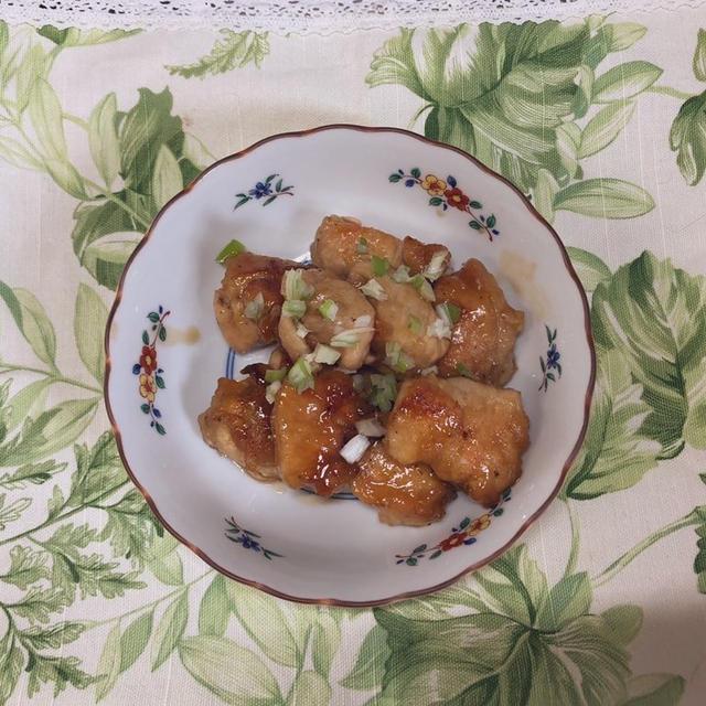 【10分レシピ】ポン酢で簡単照り焼きチキン