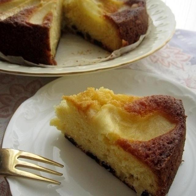 りんごたっぷり焼きケーキ