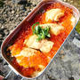 秋の味覚☆メスティンで作るはらこ飯☆山飯レシピ
