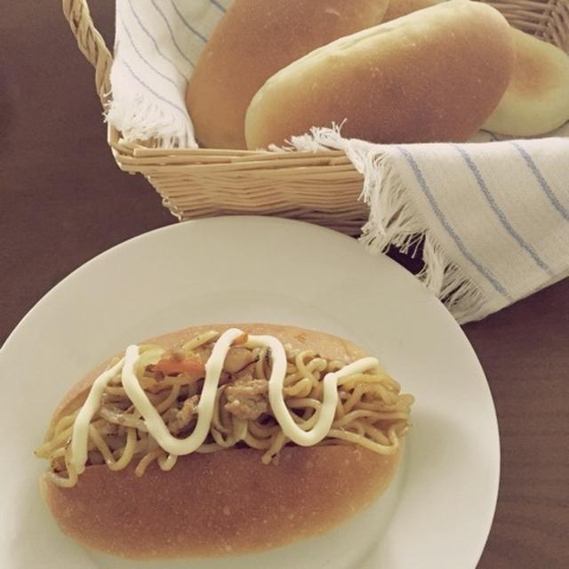 焼きそばパン。食べたいの一言から。