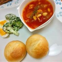 レシピブログ GABANローリエでトマトスープ