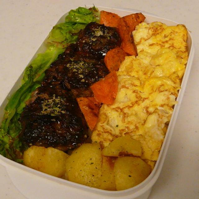 お弁当(ミニハンバーグ丼)