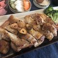 パリッとシューシー!鶏もも肉のガリバタステーキ
