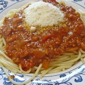 リニューアルしたレシピ その4 ビーフ・ラグー・ソースでパスタ料理
