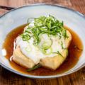 今日はお酒の肴「揚げ出し豆腐のトロロあんかけ」&「めかぶの冷凍保存2種」