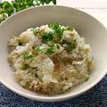 炊飯器で楽々♪麻婆豆腐風炊き込みご飯 by TOMO(柴犬プリン)さん